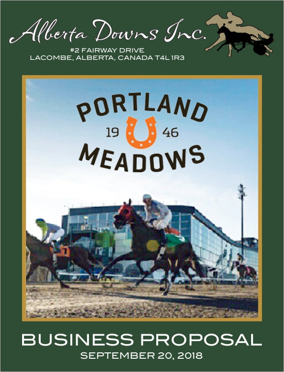 Portland Meadows Proposal Cover